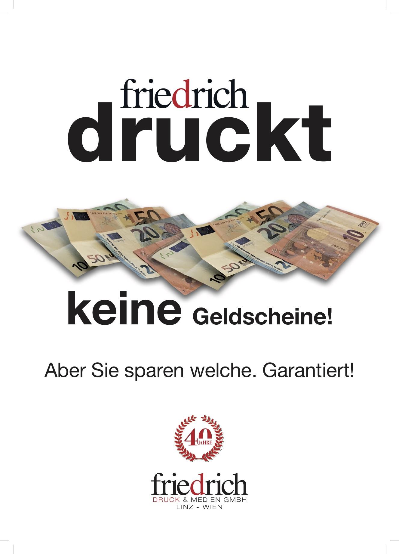 Friedrich druckt